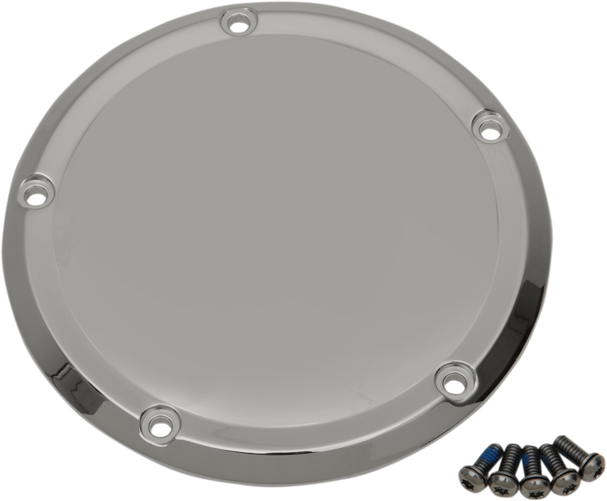 Drag Specialties Chrome 5 Hole Derby Cover for 16-19 Harley Touring FLHR FLHX