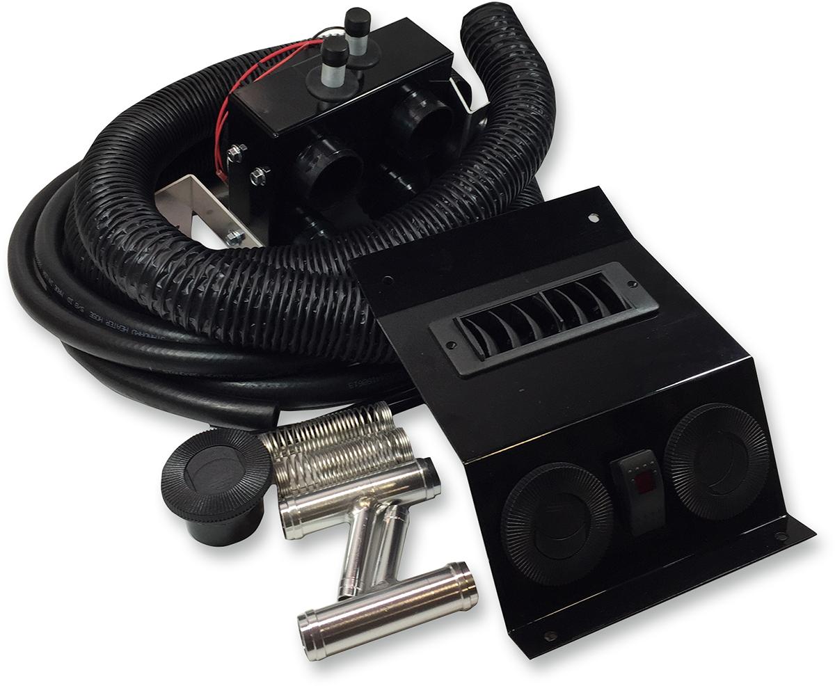 Moose Utility Utv Side By Side 12v Cab Heater for 16-17 Can-Am Defender