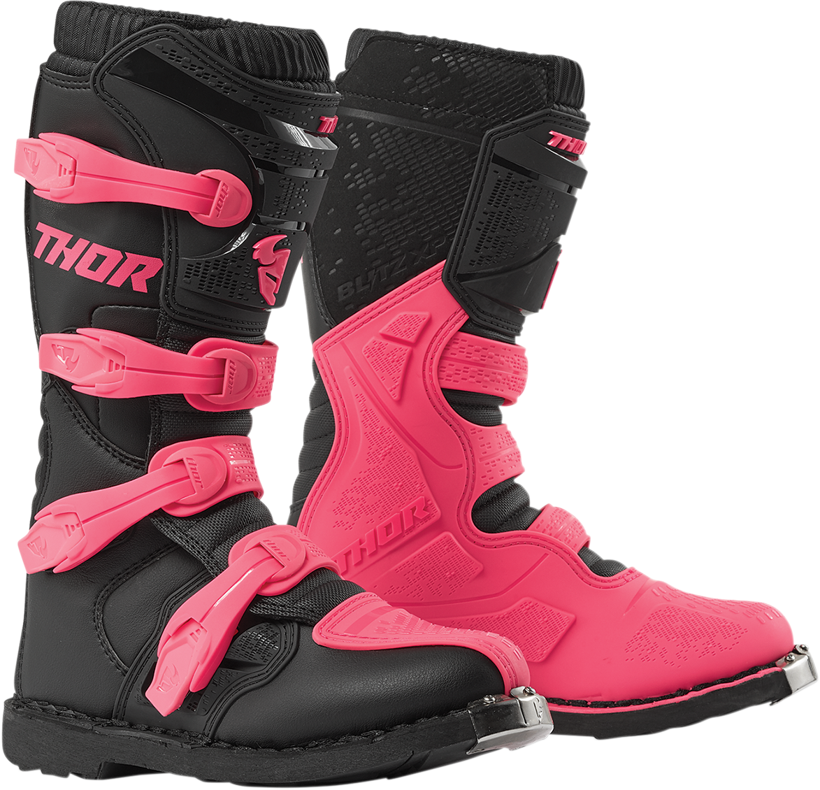 Thor Womens Pair Blitz XP Textile Offroad Riding Dirt Bike Racing Boots
