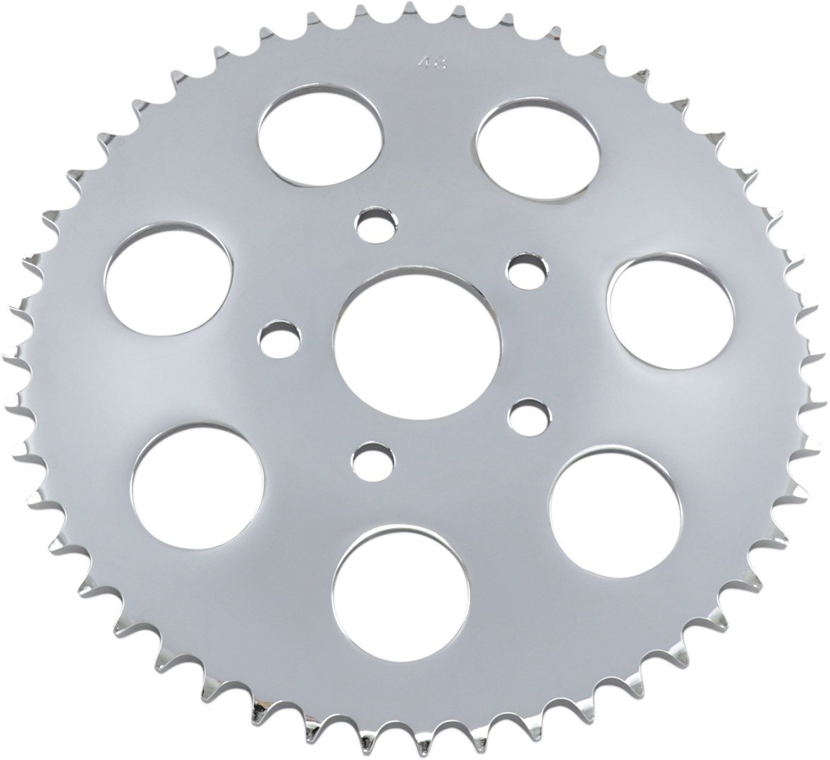 Drag Specialties 48 Tooth Dished Rear Sprocket for 73-99 Harley Touring Softail