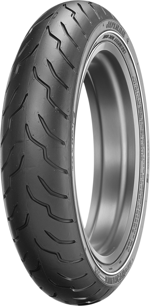 Dunlop American Elite MT90B16 Narrow Whitewall 72H Motorcycle Front Tire