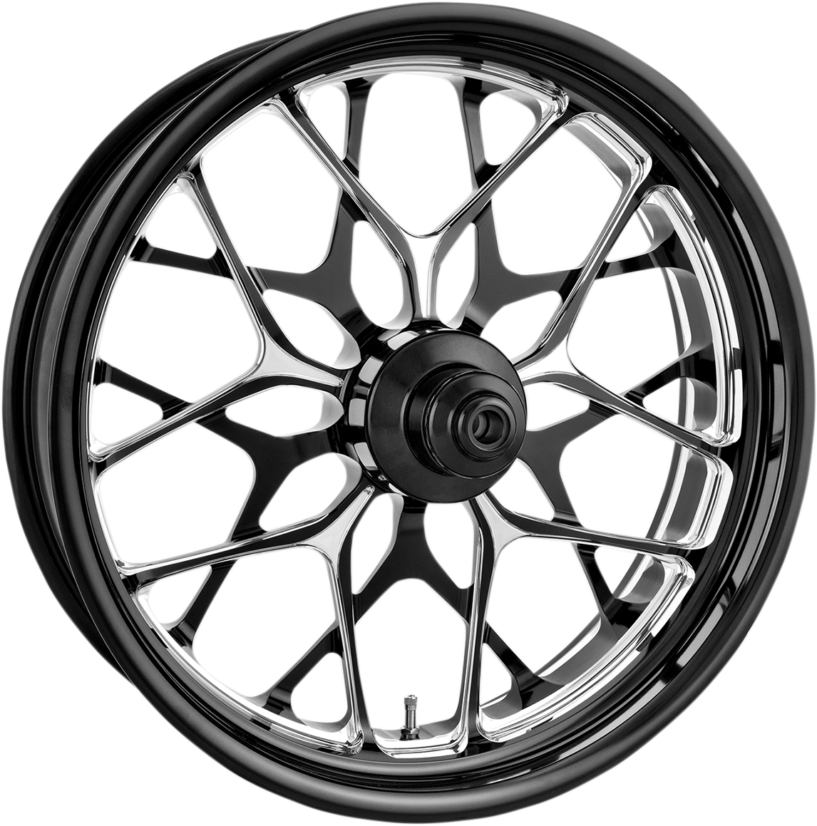 """Performance Machine Galaxy 21"""" Dual Disc Front Wheel 14-19 Harley Touring FLHX"""