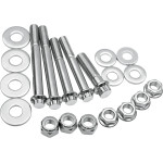 STAINLESS STEEL MOTOR MOUNT BOLT KIT