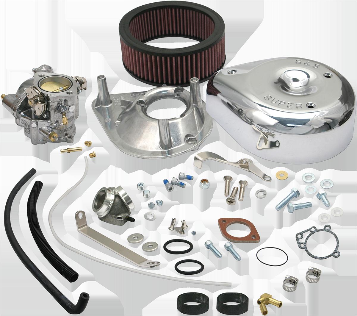 """S/&S Super E Carburetor 1-7//8/"""" Bore"""