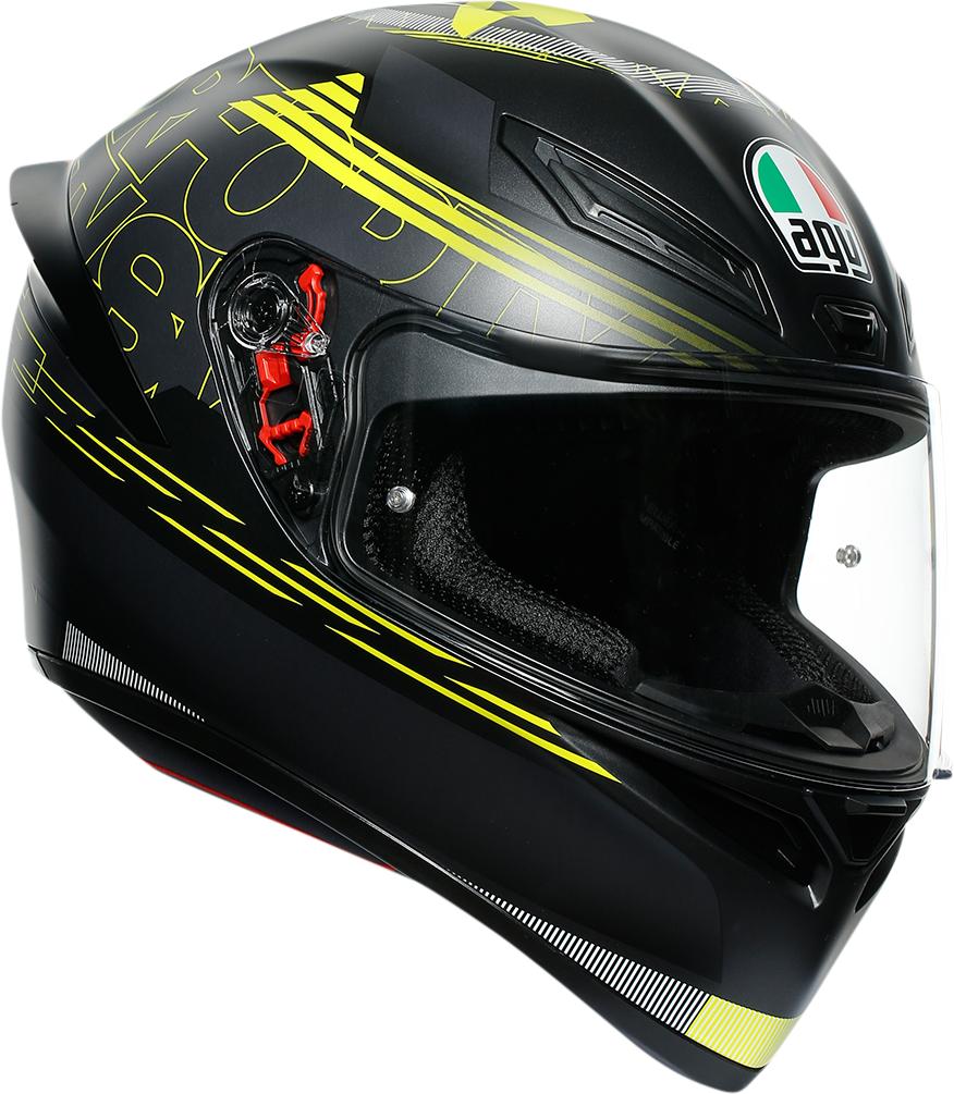 AGV K1 Track 46 Unisex Adult Motorcycle Riding Street Racing Full-face Helmet
