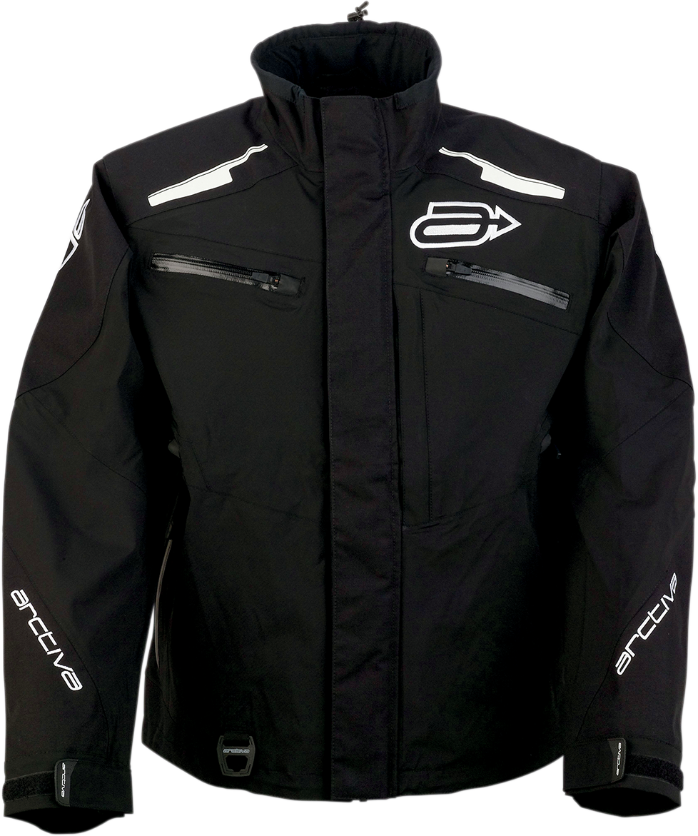 Arctiva Mens Textile Summit Zipper Snowmobile Racing Snow Riding Jacket