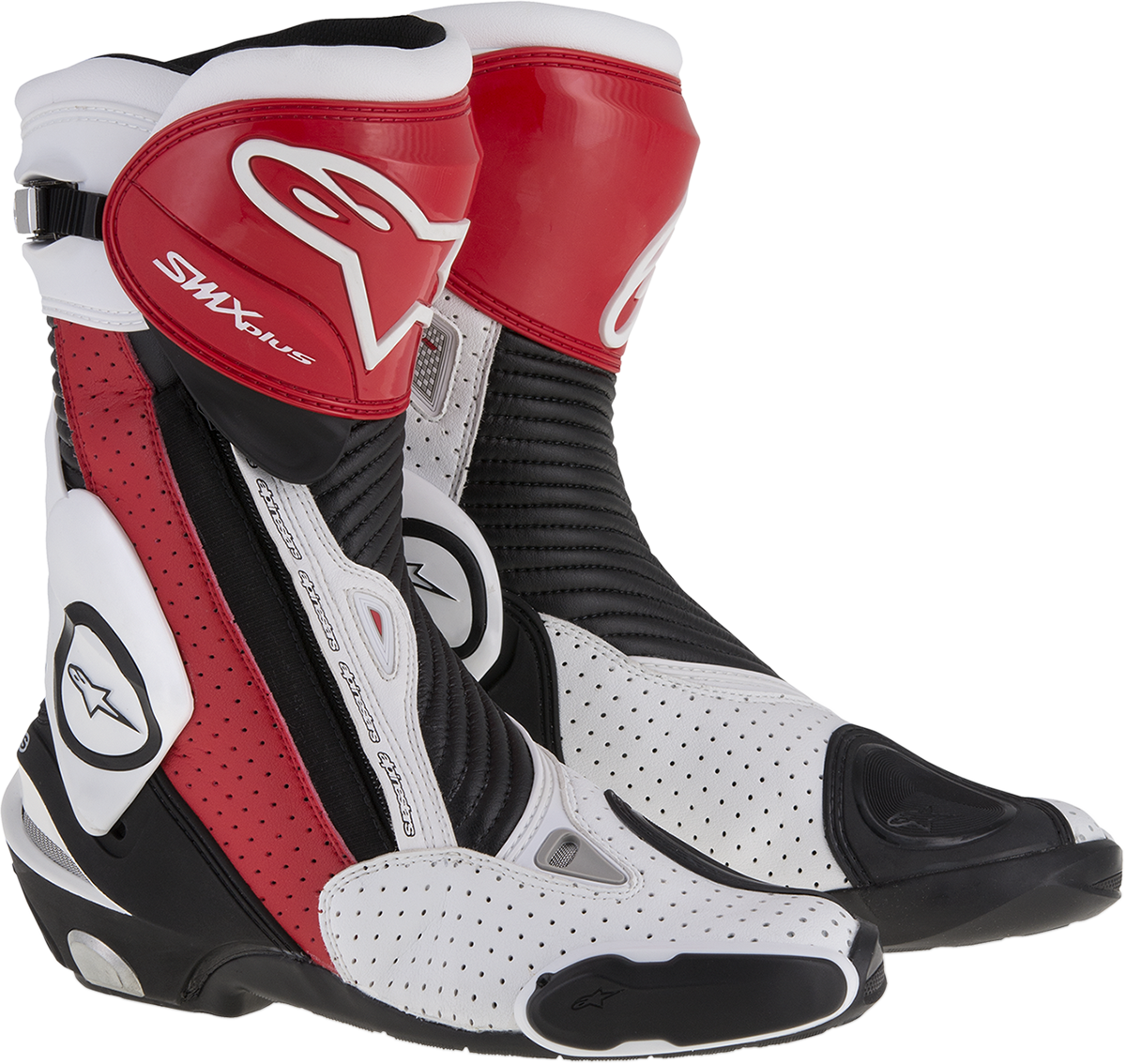 Alpinestars Mens Size 6 SMX Plus Vented Motorcycle Riding Street Racing Boots