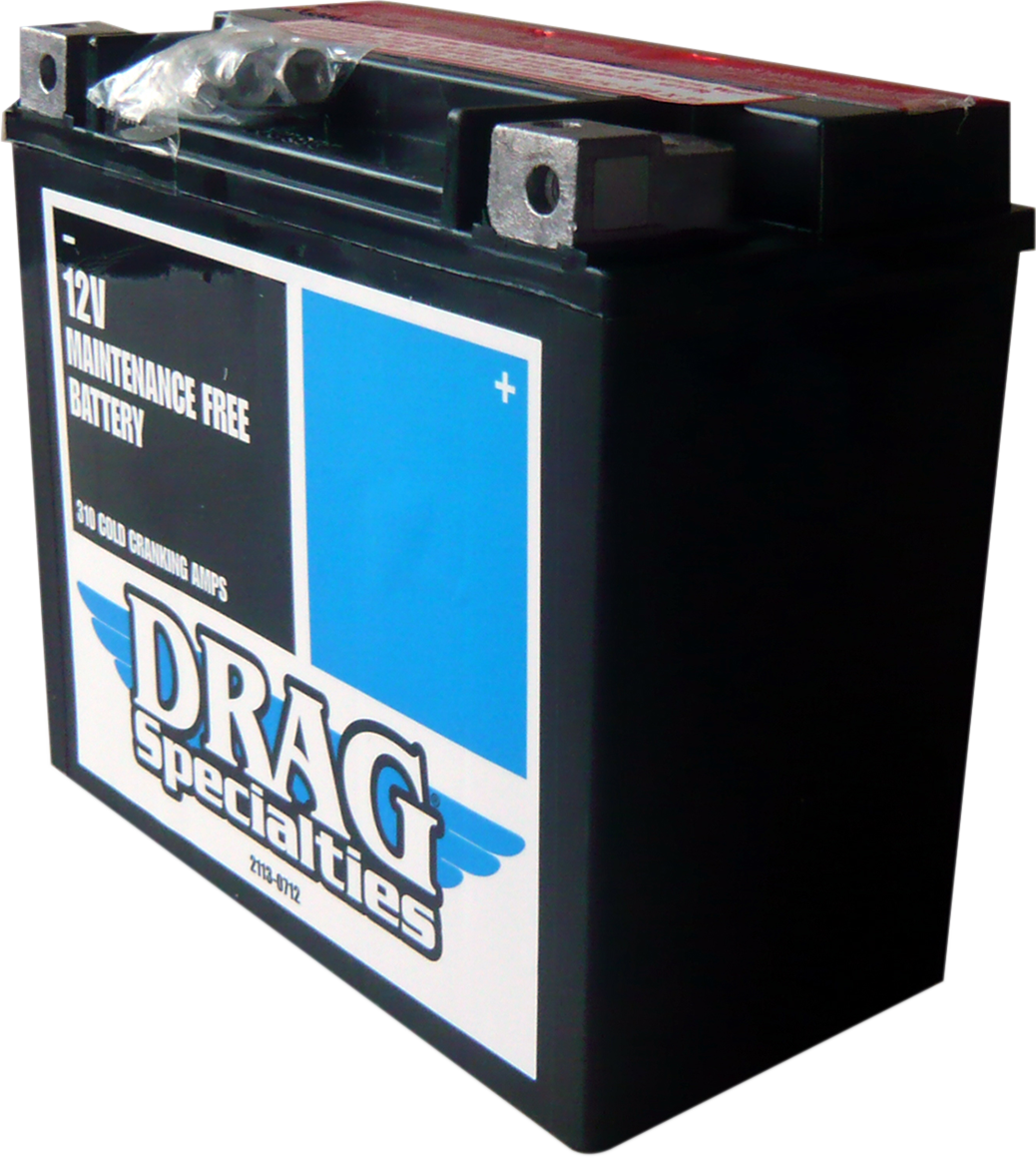 Drag Specialties AGM Maintenance Free Battery for 97-03 Harley Sportster XL