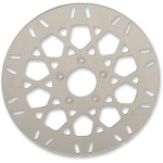 POLISHED STAINLESS STEEL BRAKE ROTORS