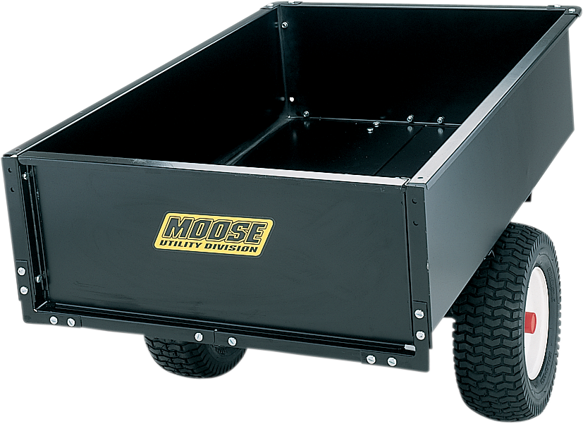 Moose Utility 1000lb Load Capacity Steel ATV UTV Side by Side Dump Trailer