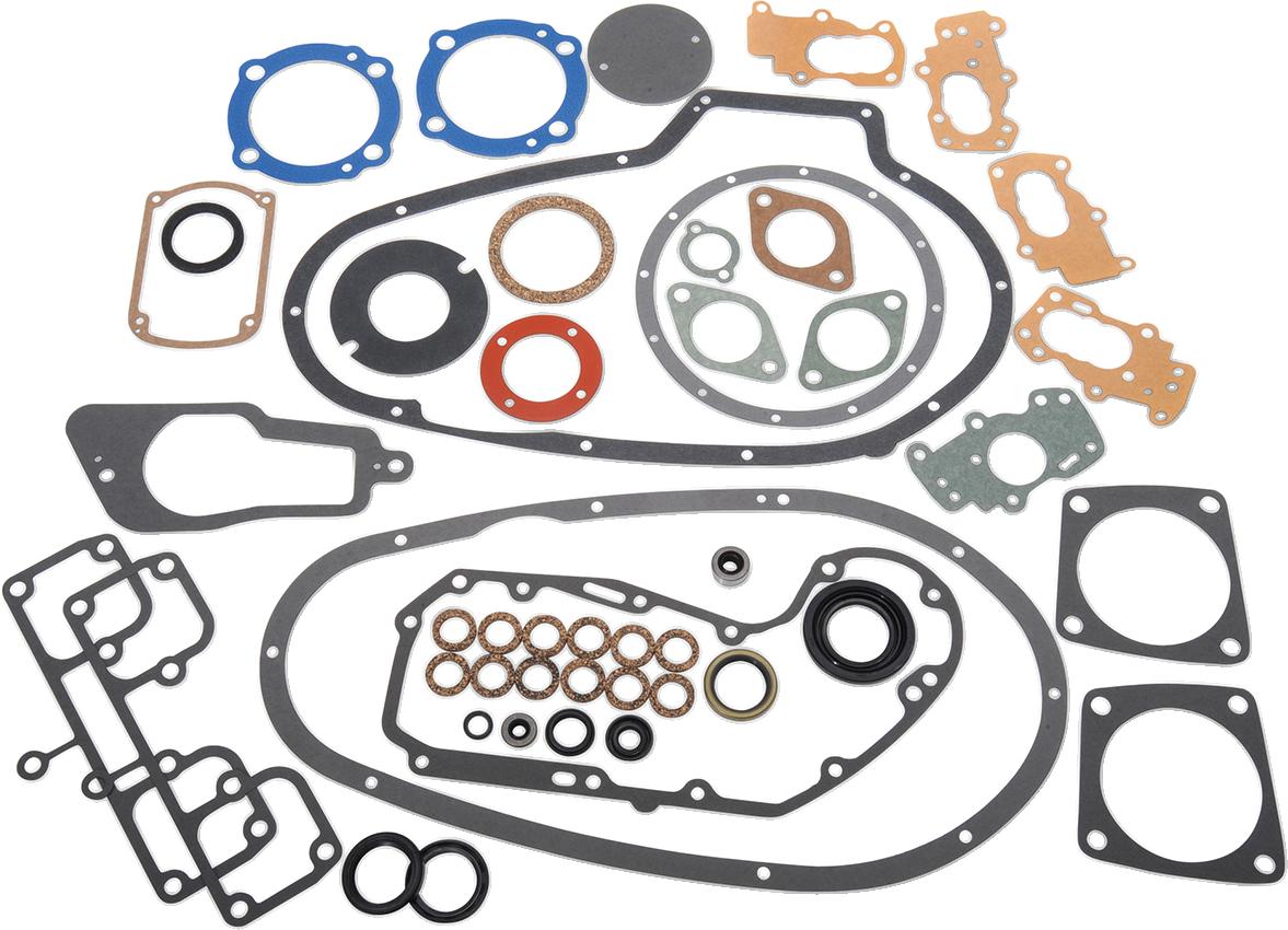 James Gasket Complete Engine Gasket Kit for 57-71 Harley 900 Sportster XLCH XLH