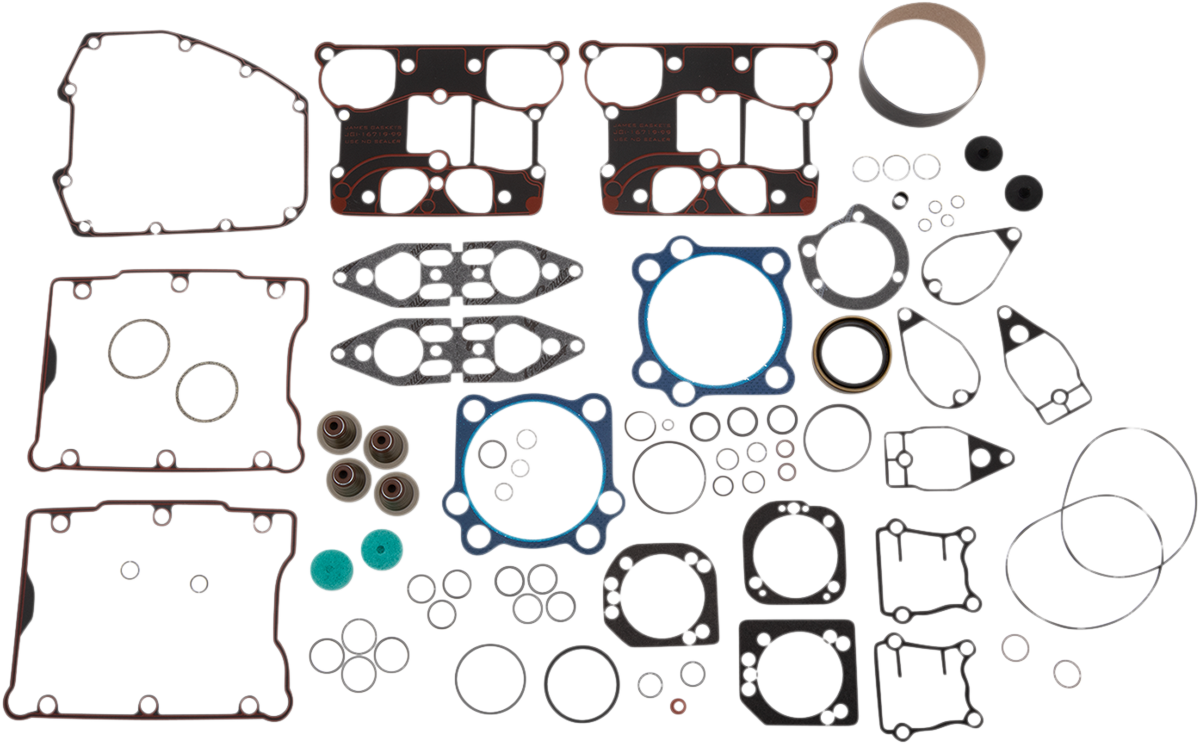 James Gasket Engine Motor Gasket Kit 05-17 Harley Dyna Touring Softail FLHX FXS