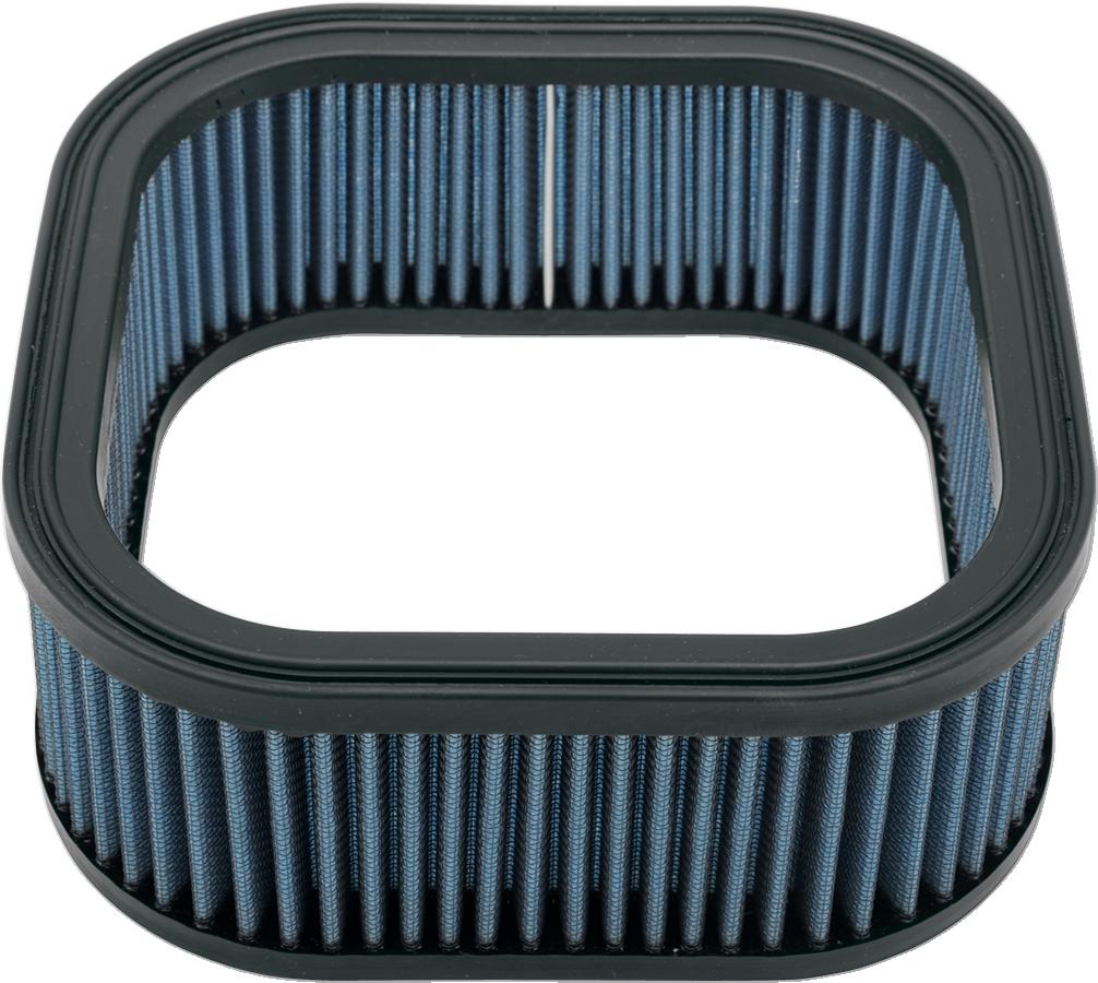 Drag Specialties Blue Gauze Reusable Air Filter for 02-17 Harley V-Rod VRSCR