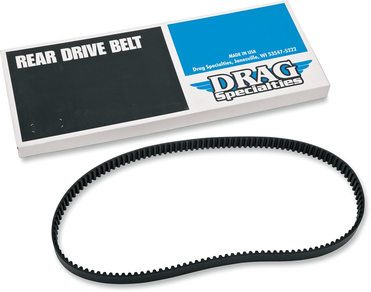 "Drag Specialties Carbon Fiber 1-1/2"" Rear 135 Tooth Custom Motorcycle Drive Belt"