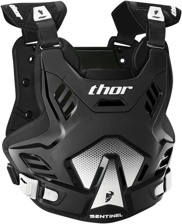 Thor Textile Sentinel GP Lightweight Off road Dirt Bike Racing Roost Deflector