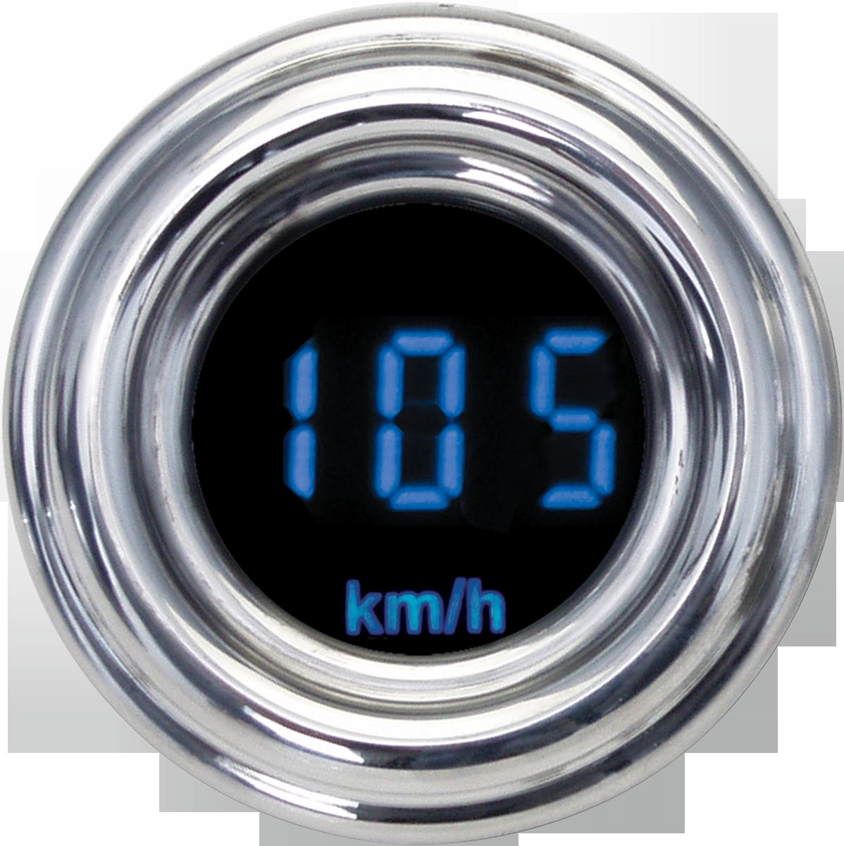 Dakota Digital Blue KPH 4000 Series Motorcycle Universal Speedo Speedometer
