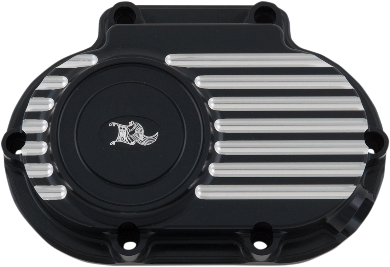 Kens Factory Black Transmission Side Cover for 06-17 Harley Dyna Touring FXST