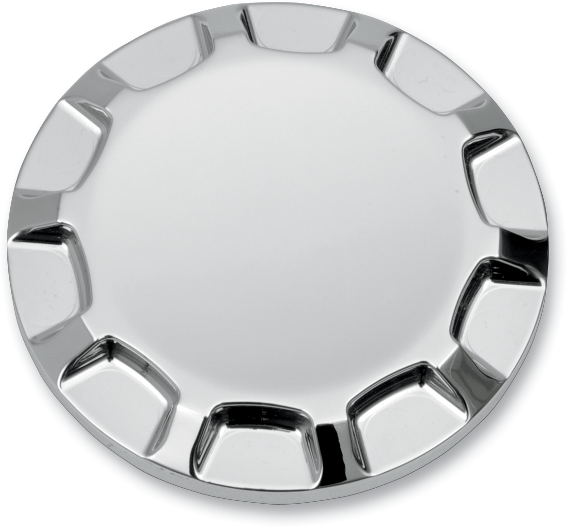 Drag Specialties Chrome Dummy Gas Cap 96-15 Harley Dyna Touring Softail FXST FLD