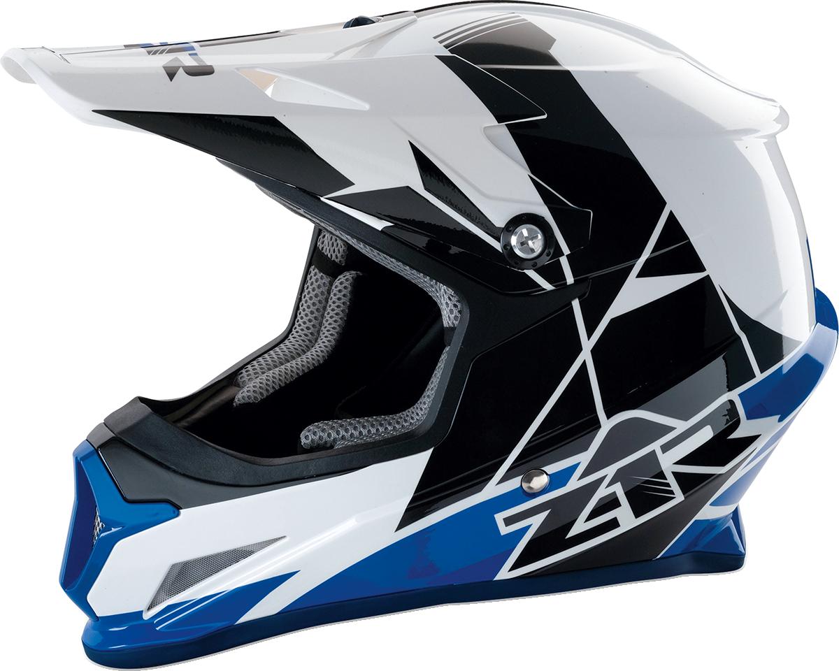 Z1R Rise Unisex Plastic Polycarbonate Off road Dirt Bike Racing Full Face Helmet
