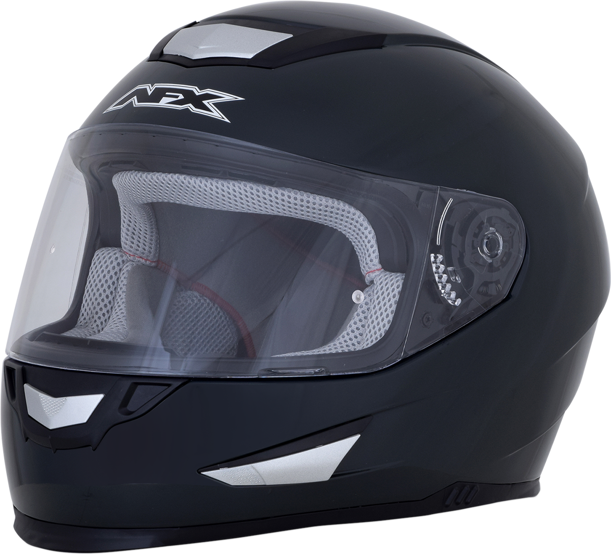AFX FX99 Black Magnetic Unisex Full Face Motorcycle Riding Street Racing Helmet