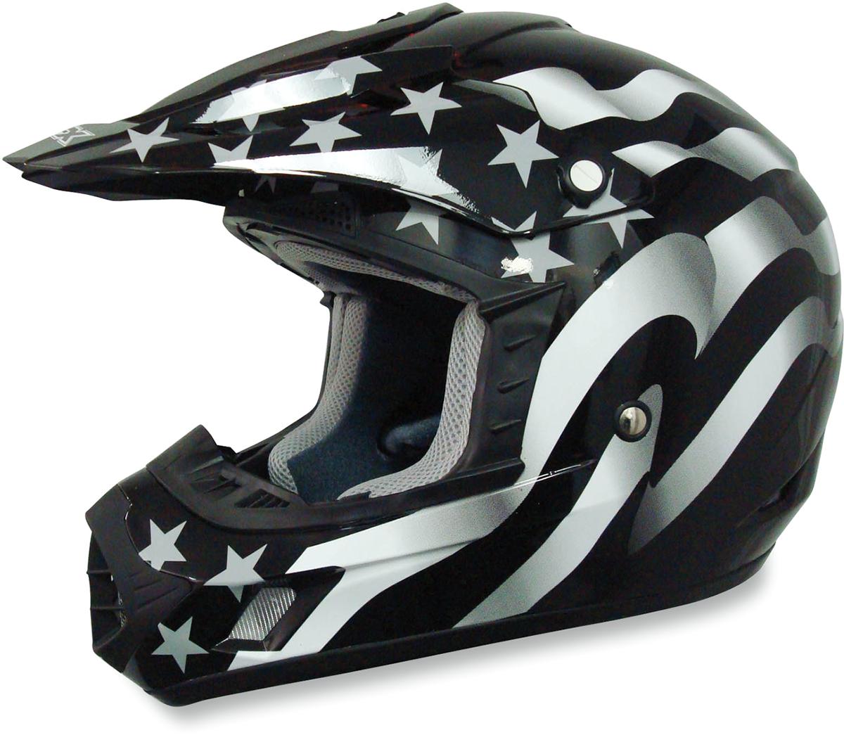 AFX FX17 Freedom Stealth Unisex Adult Offroad ATV UTV Riding Racing Helmet