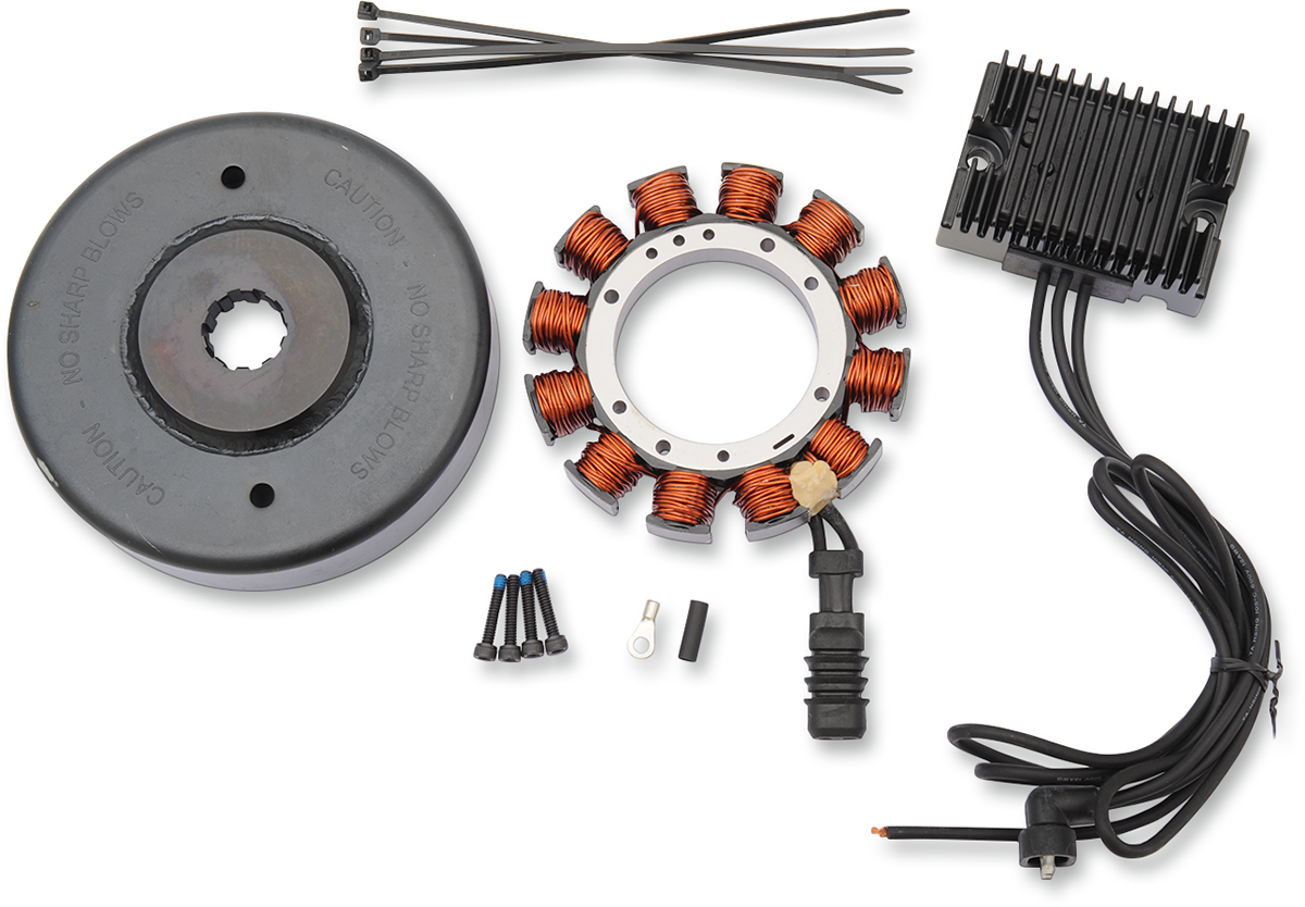 Drag Specialties 32A Heavy Duty Charging Kit 69-98 Harley Dyna Touring Softail