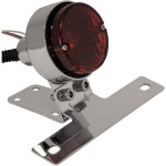 """CLASSIC 21/4"""" TAILLIGHT WITH LICENSE PLATE MOUNT"""