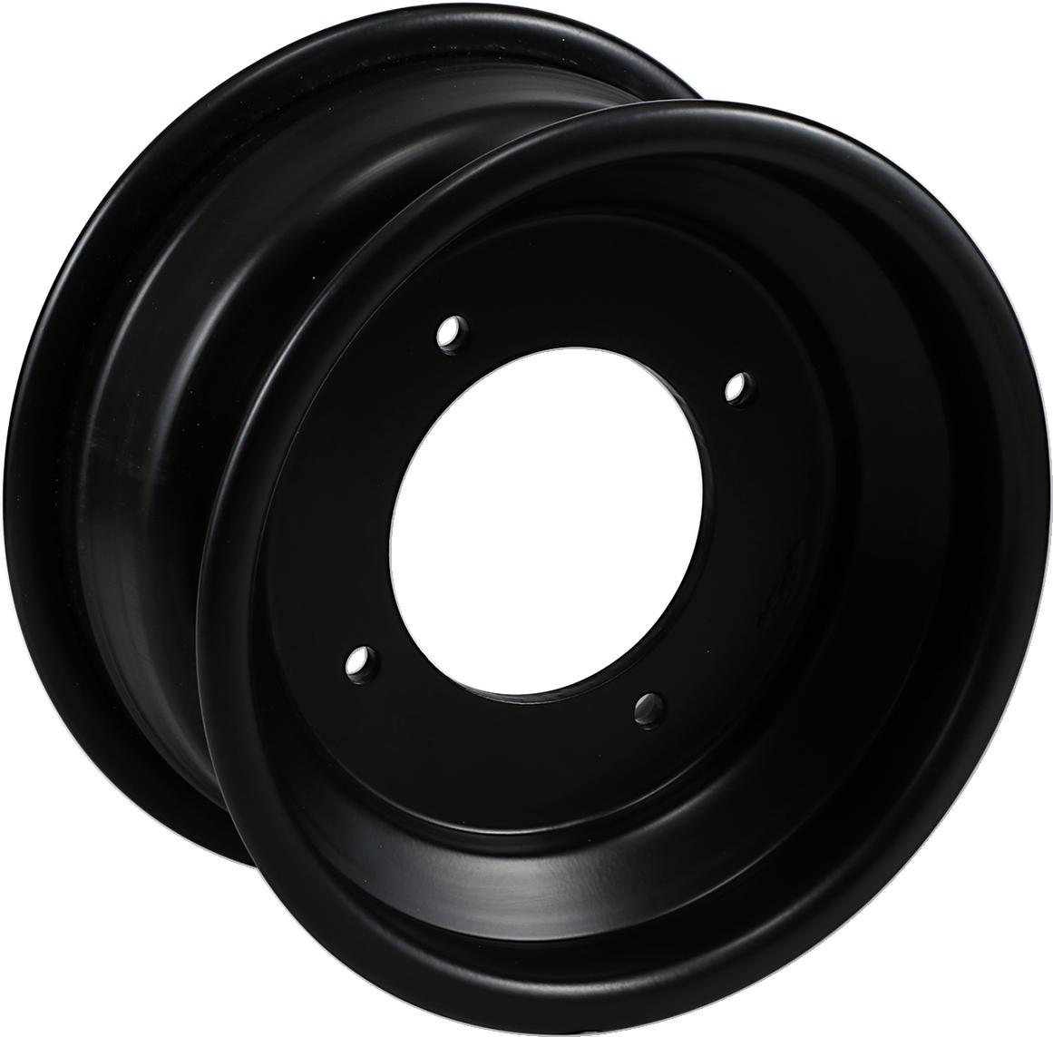 4//115 Polished AMS Standard-Lip Spun Aluminum Wheel 9x9-3+5 Offset