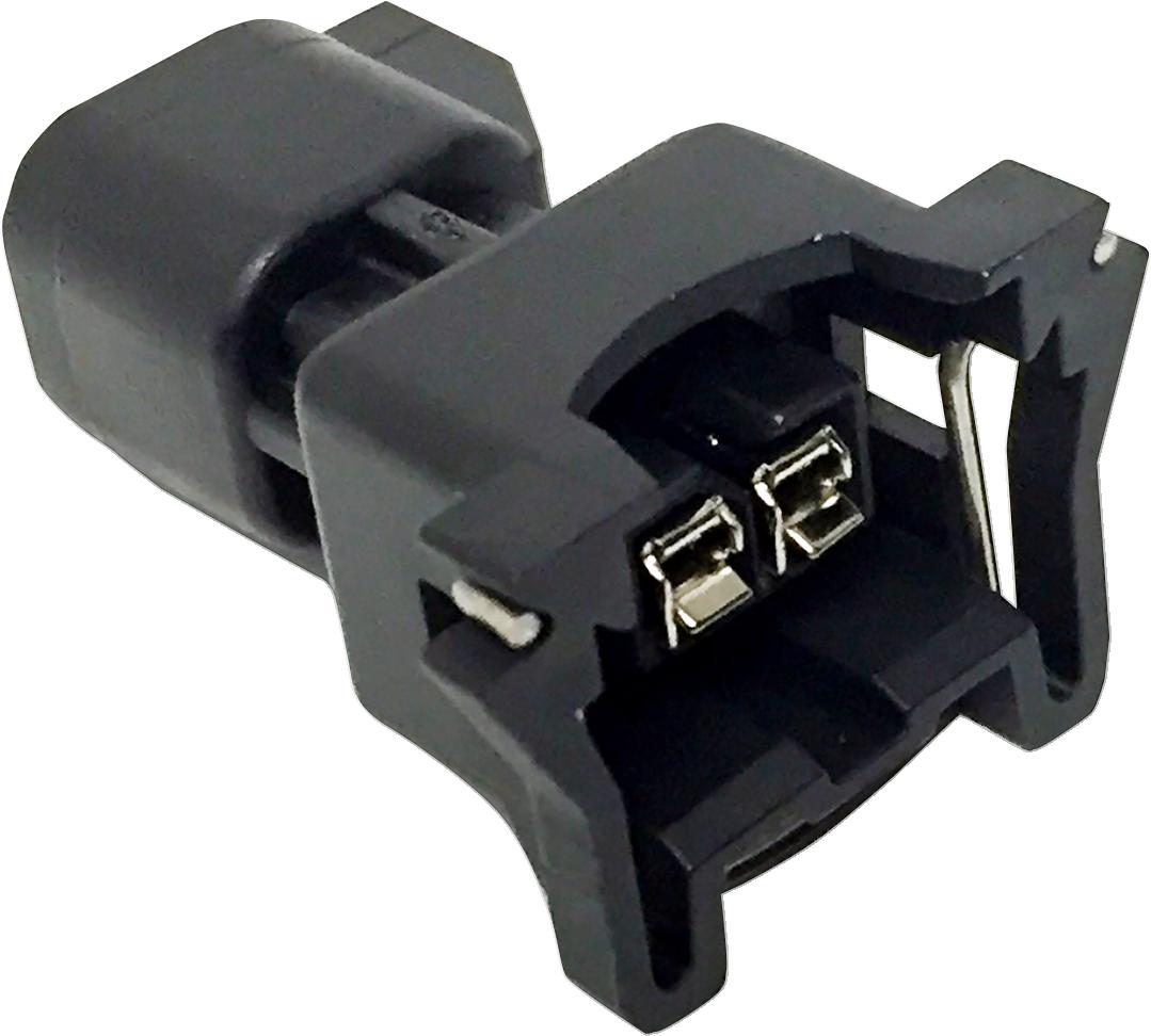 Feuling Oil Pump Corp EV6 Plug to EV1 Fuel Injector Adapter for Harley Davidson