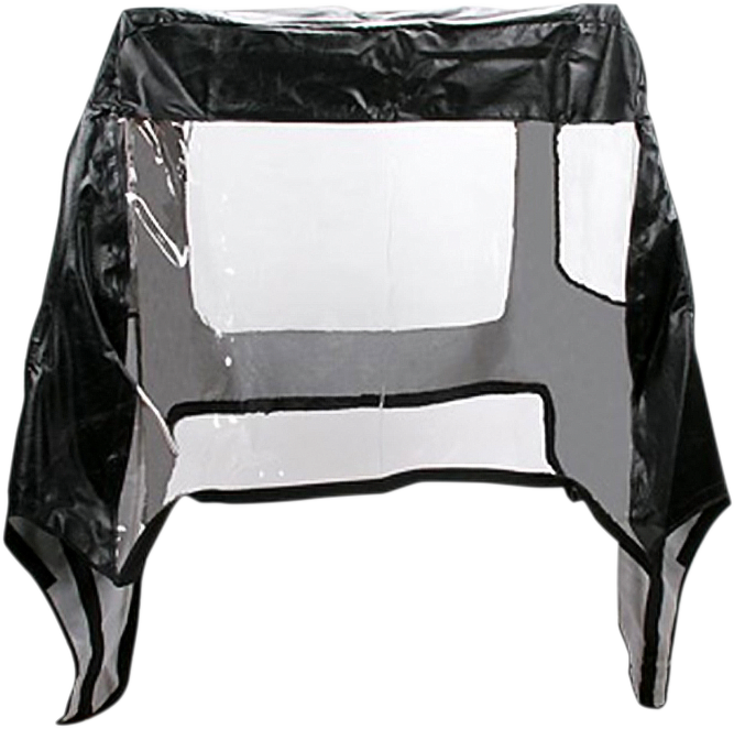 Moose Utility Black Vinyl Full UTV Cab Enclosure for 05-10 Kawasaki Mule 610 4x4