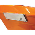 LIGHTED SADDLEBAG LATCH COVERS
