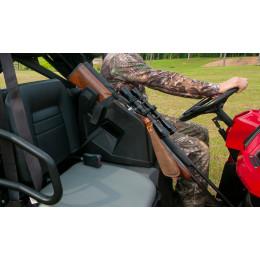ICOS IN CAB ON SEAT GUN RACK