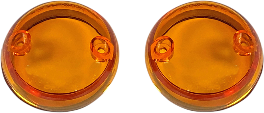 Custom Dynamics Probeam Amber Turn Signal Lens 15-20 Indian Scout Sixty