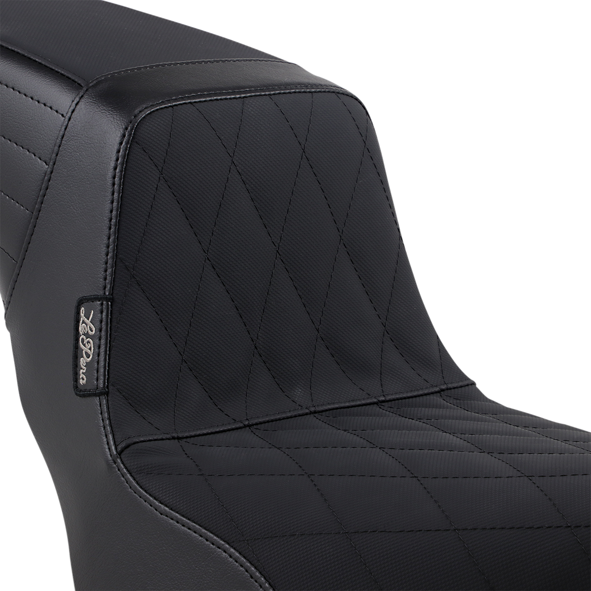 Le Pera Vinyl Black Diamond Grip Tape Kickflip Seat 18-19 Harley Softail FXBB