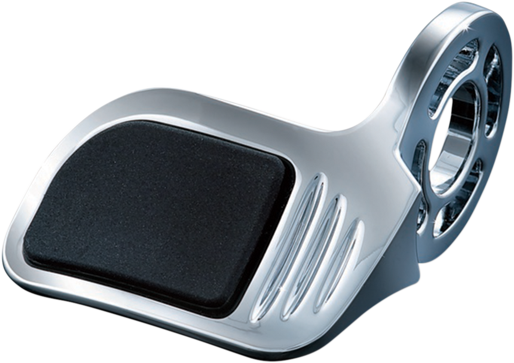 Kuryakyn 6299 Black Chrome Motorcycle Contour Grip Throttle Boss Control