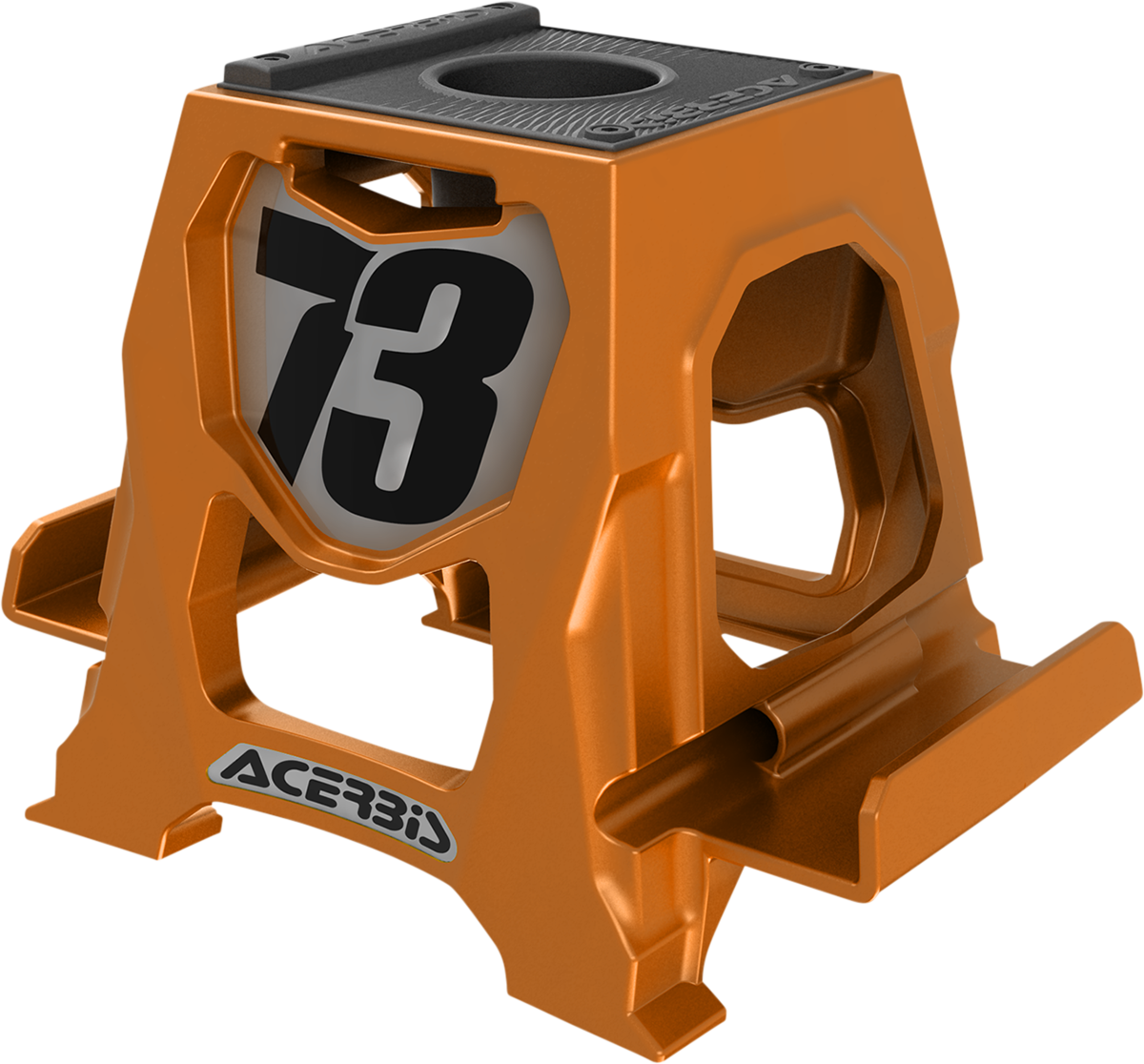 Acerbis Orange Universal Cell Phone Table Dirbike Stand Holder