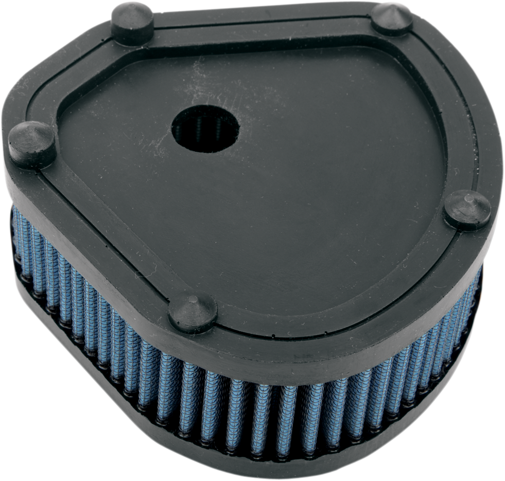 Drag Specialties Blue Gauze Air Filter for 84-89 Harley Touring Softail EVO FXR