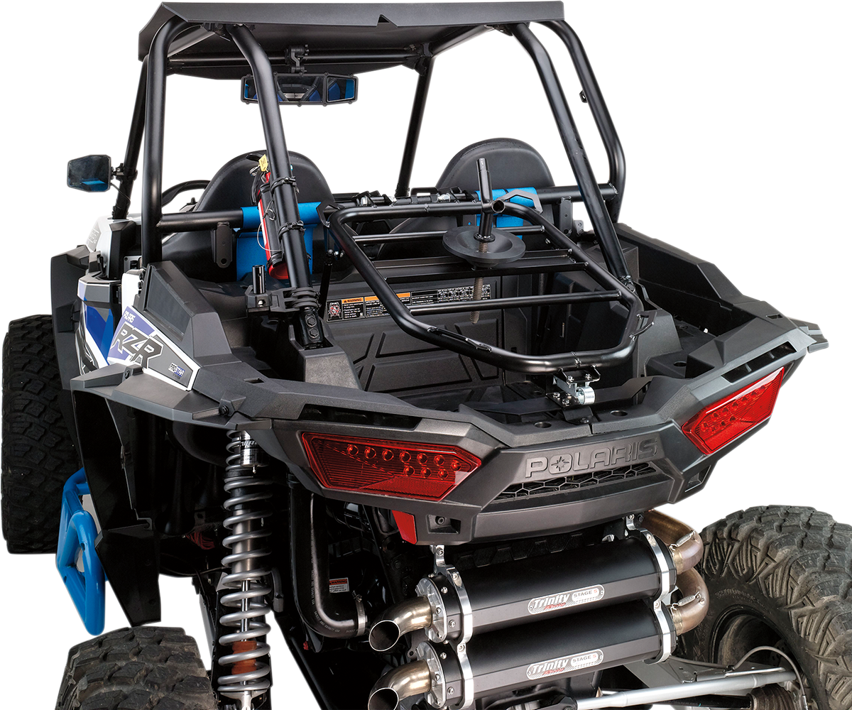 Moose Racing UTV Side by Side Spare Tire Carrier for Polaris RZR XP 1000 Series
