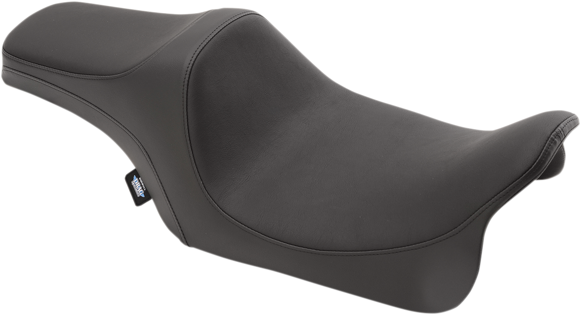 Drag Specialties Black Vinyl Predator Seat for 08-18 Harley Touring FLHR FLHX