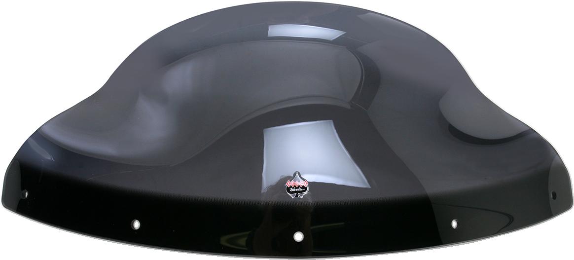 """Klock Werks 9"""" Dark Smoke Flare Fairing Windshield For 09-17 Kawasaki Vulcan"""