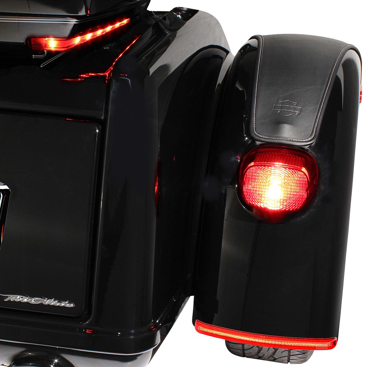 Ciro LED Fender Blades Turn Signal Kit for 09-19 Harley Trike FLHTCUTG FLHXXX