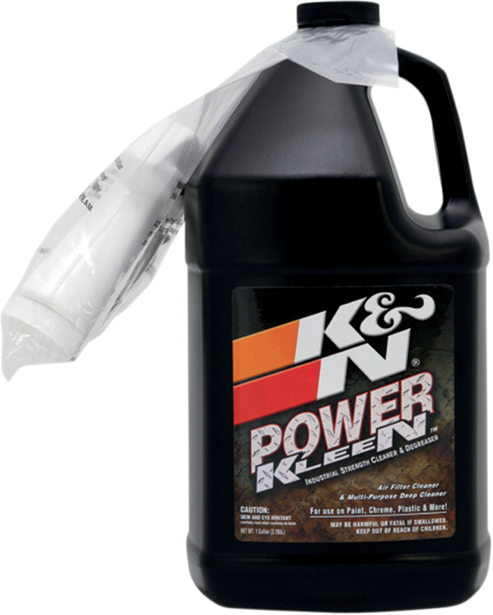 K&N 1 Gallon Power Kleen Motorcycle Offroad Dual Sport Air Filter Cleaner Spray