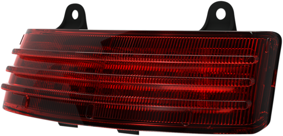 Custom Dynamics Red LED Tribar Taillight For 10-13 Harley Touring EFI FLHX FLTRX