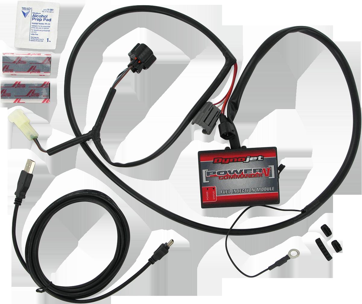 Moose Power Commander V Fuel Injection Module for 08-19 Kawasaki Brute Force