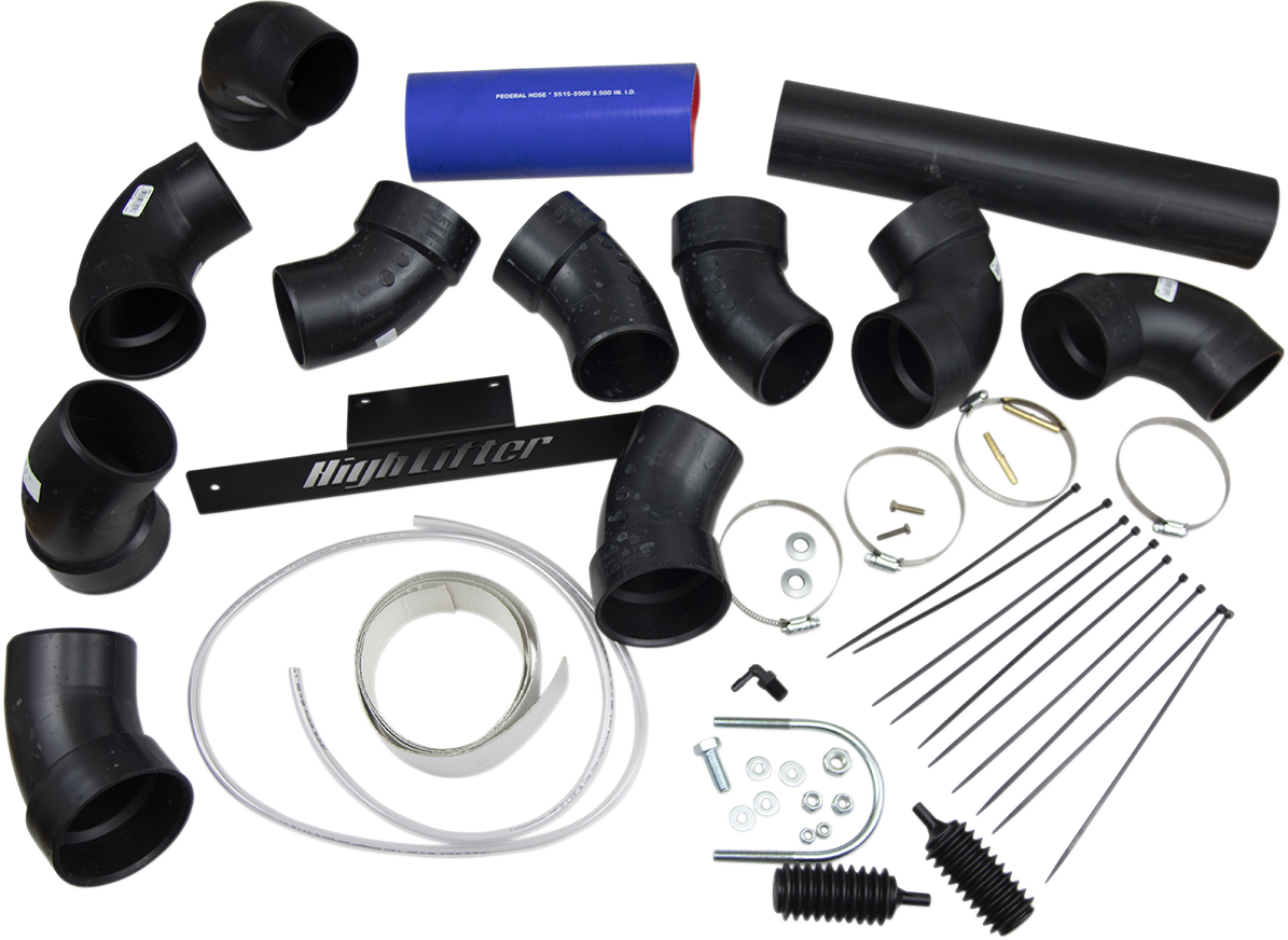"""Highlifter 2"""" Side by Side Airbox Snorkel Kit for 2014 Polaris RZR XP 1000"""