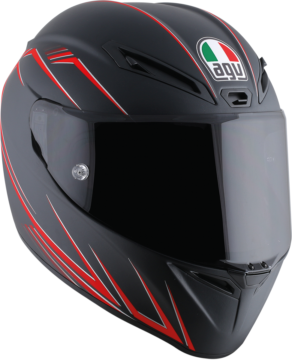 Agv Unisex Veloce 8 Full Face Motorcycle Riding Street Road Racing Helmet