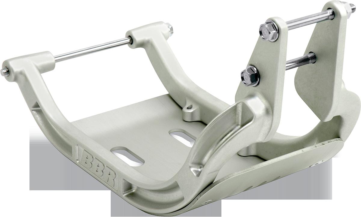 BBR Motorsports Silver Off road Frame Cradle for 00-16 Yamaha TT-R125 TT-R125LE