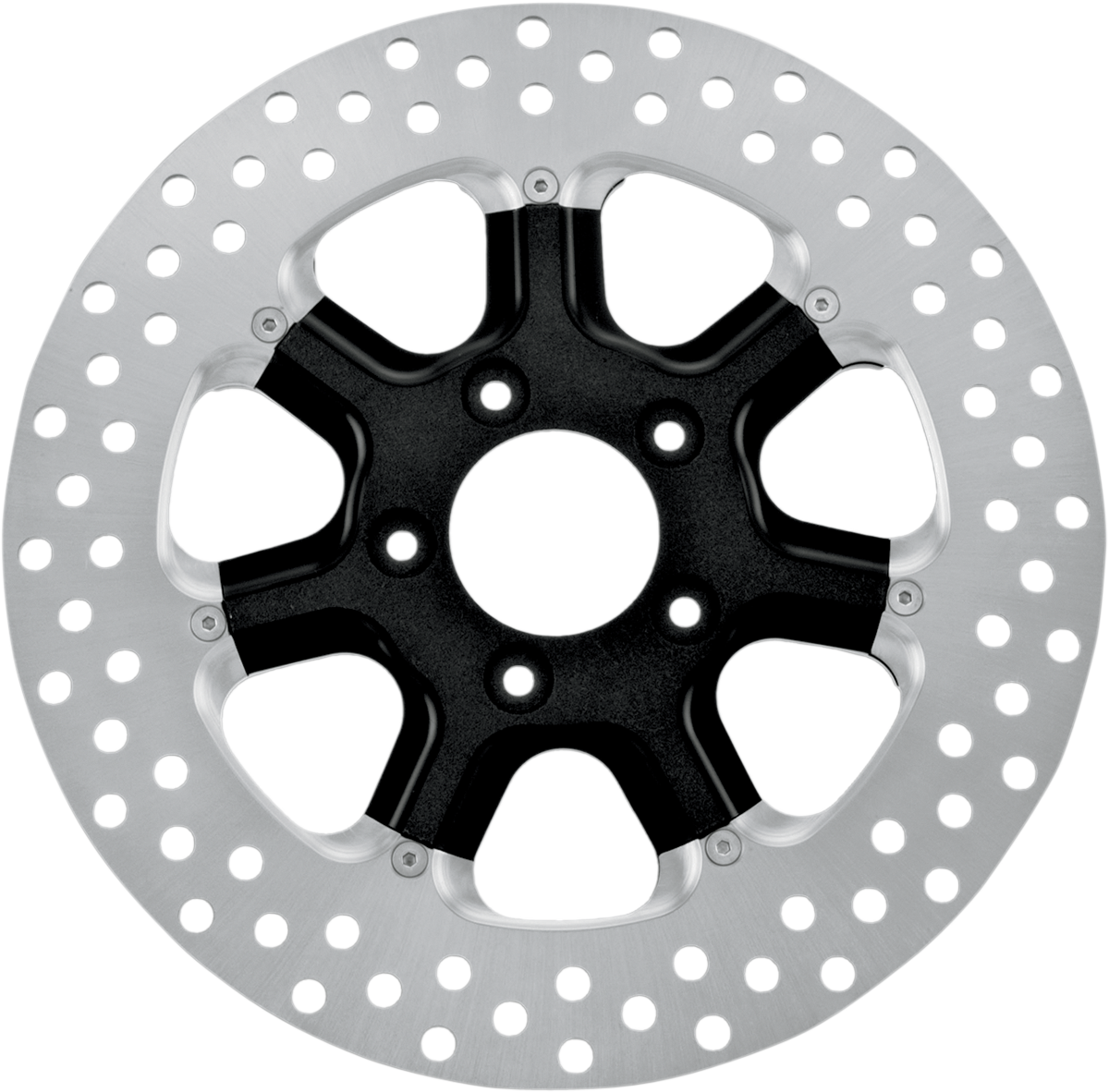 """RDS Black 11.8"""" Diesel Front Brake Rotor 08-17 Harley Dyna Touring Softail XL"""