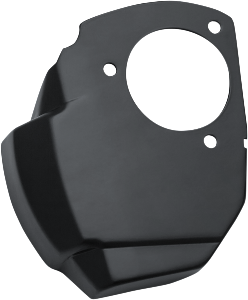 Kuryakyn 9341 Black Throttle Servo Cover for 17-18 Harley Touring FLHX FLHR FLRT