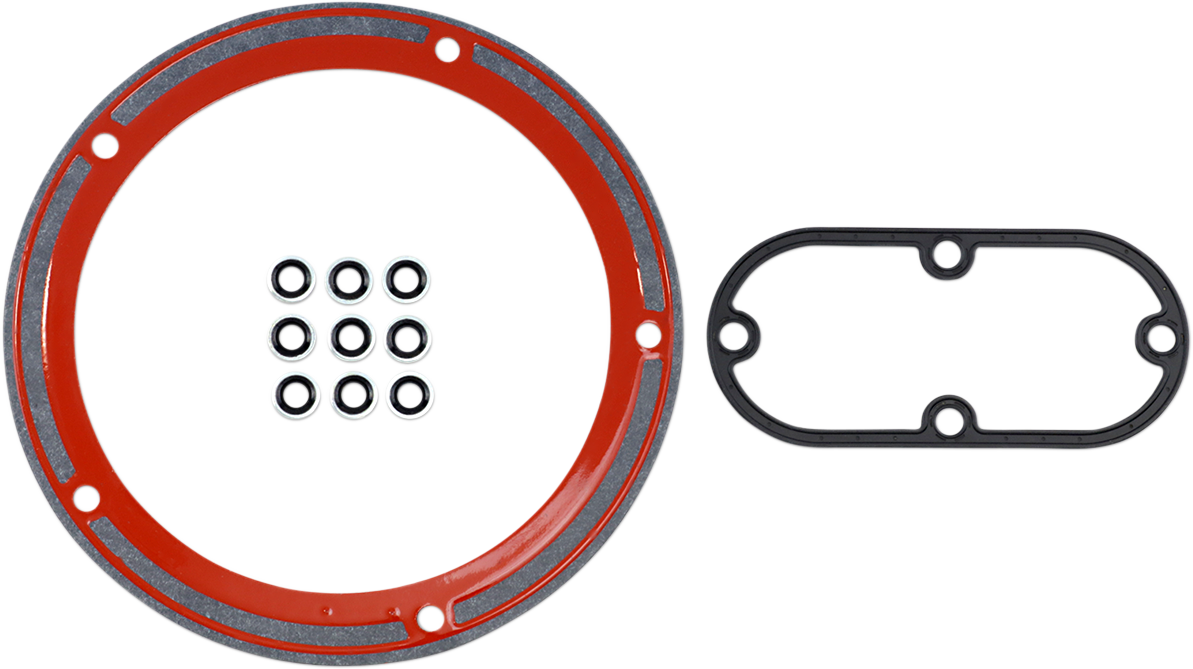James Gasket Inspection Derby Cover Gasket Kit for 99-06 Harley Dyna Softail FXD